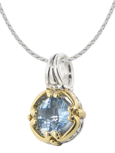 Little Inspirations Aqua Hope SLIDER Charm - John Medeiros Jewelry Collections