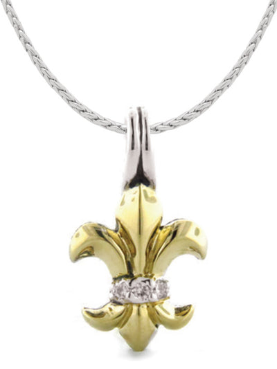 Little Inspirations Fleur De Lis SLIDER Charm