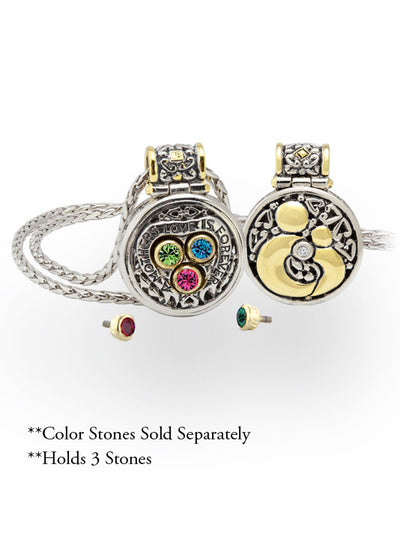 John Medeiros Celebration Interchangeable Stone Collection - Reversible Mother's Necklace