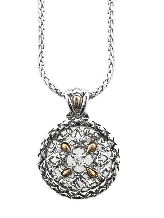 Lattice Collection - Palermo Edition - Medallion Slider with Chain