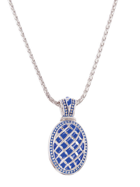 Lattice Collection - Lapis Edition - Royal Enhancer with Chain