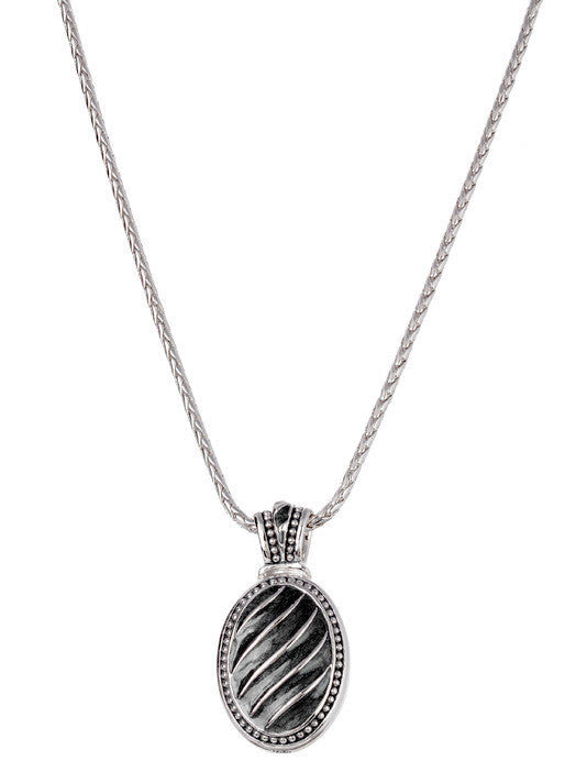 Ocean Images Black Seas Collection Royal Slider with Chain