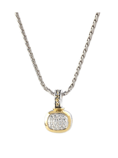 Nouveau Pavé Slider with Chain - John Medeiros Jewelry Collections