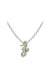 Ocean Images Seaside Collection Pavé Seahorse Slider with Chain