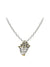 Ocean Images Seaside Collection Pavé Seashell Slider with Chain