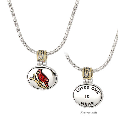 Celebration Memories Red Cardinal Pendant Necklace