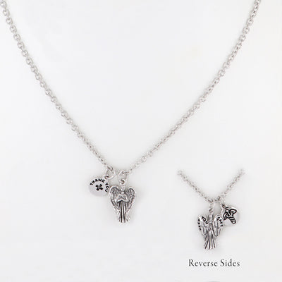 "Celebration ""Angel of Heroes"" Pendant Necklace"