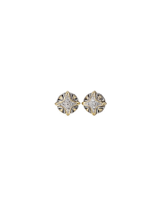 O-Link Collection Falling Stars CZ Stud Earrings