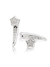 Timeless Star Post Earrings with Interchangeability.