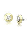 Interchangeable CZ Stud Earrings