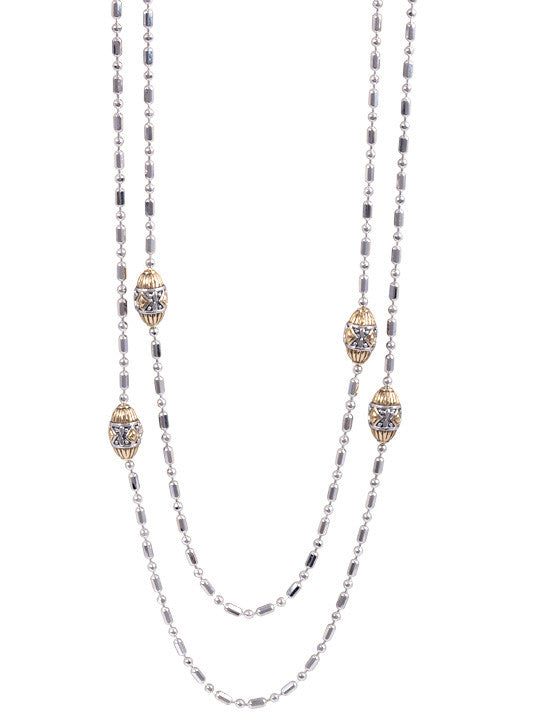 Beaded Long Strand Necklace