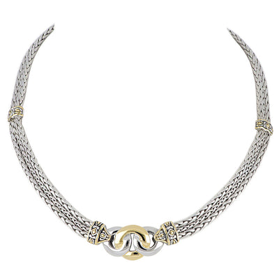 Antiqua Three Circle Necklace - John Medeiros Jewelry Collections