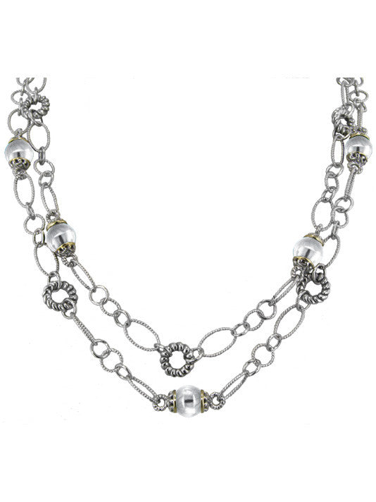 "Ocean Images Collection 44"" Pearl Necklace"