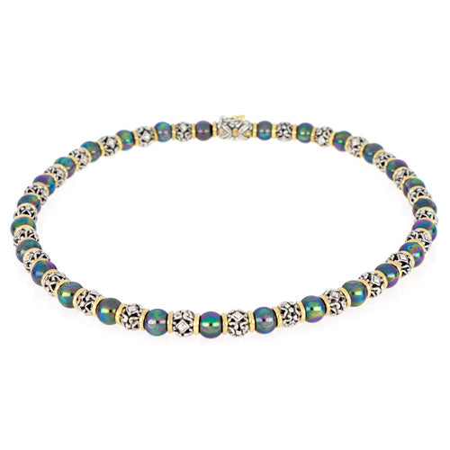 Ocean Images Collection Peacock Pearl Necklace