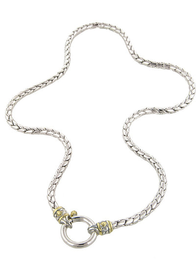 Spring Ring Chain Necklace - John Medeiros Jewelry Collections