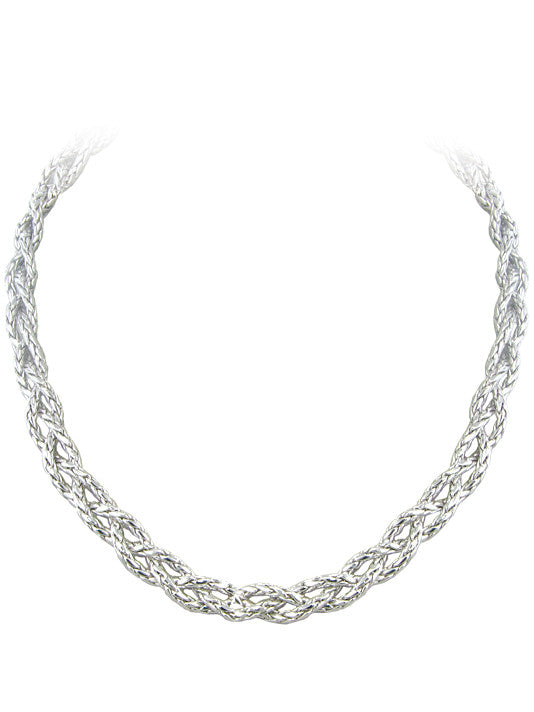 John Medeiros Anvil Braided Necklace