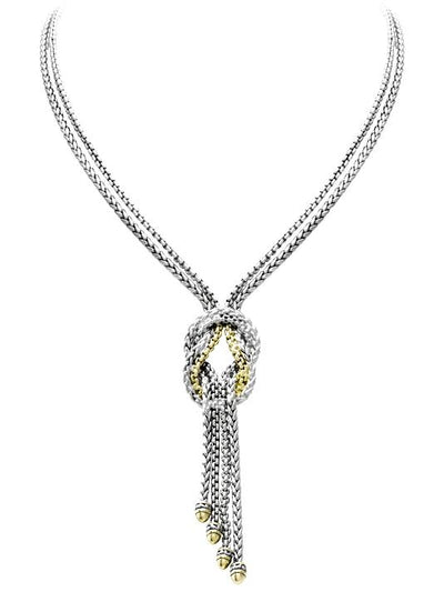 Anvil Knot Necklace - John Medeiros Jewelry Collections