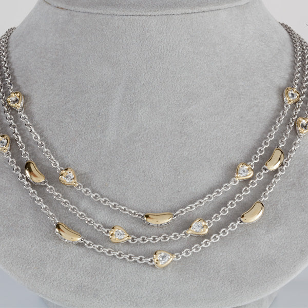 Lanna Collection Triple Strand Necklace