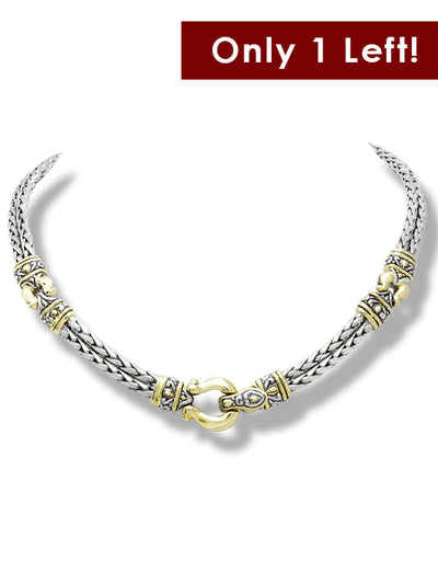 Anvil Horseshoe Necklace - John Medeiros Jewelry Collections