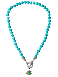 Ocean Images Pearl in Shell String of Knotted Pearls Necklace