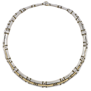 Canias Original Collection Three Row Necklace