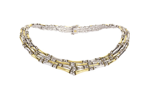Canias Collection Four Row Necklace