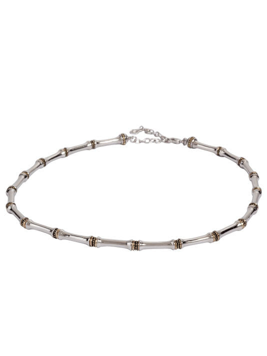 Canias Collection Single Row Beaded Necklace
