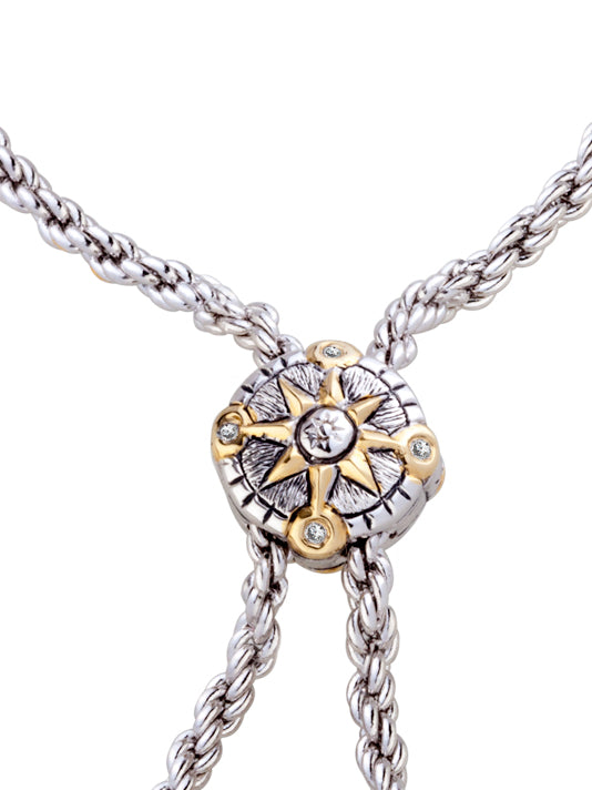 "Celebration Compass 32"" Adjustable Bolo Necklace"