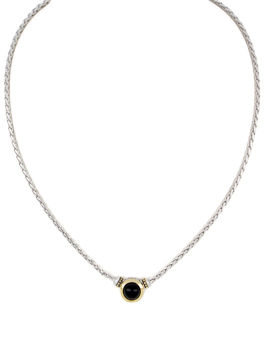 Genuine Black Onyx Necklace