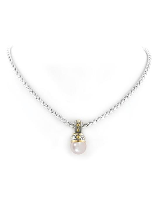 Ocean Images Pink Pearl Slider With Chain