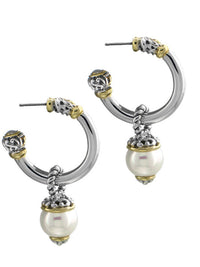 Ocean Images Collection Hoop Earrings - Large