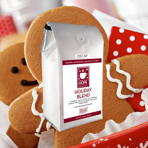 Organic Decaf Holiday Blend