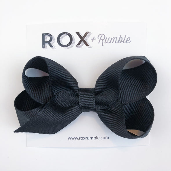 Hair Bow - Black