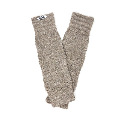 Coyote - Knit + Purl Leg Warmers
