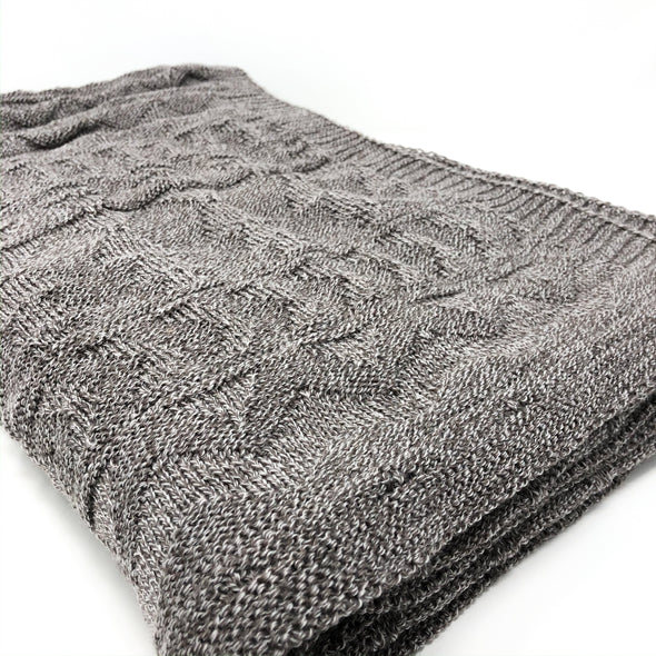 Moyote Knit + Purl - Throw Blanket