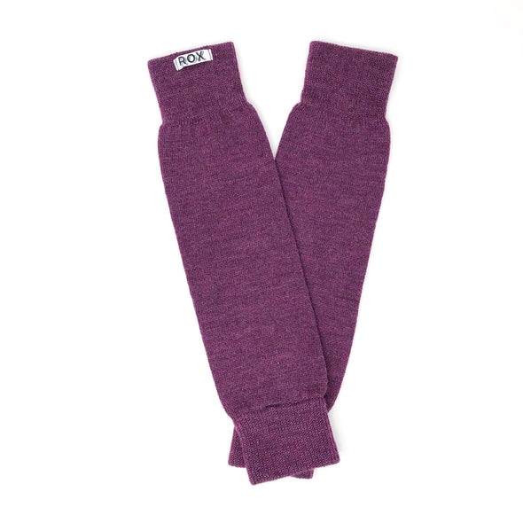Purple - Leg Warmers