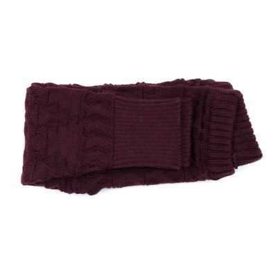 Bordeaux Knit + Purl - Woolster Pants