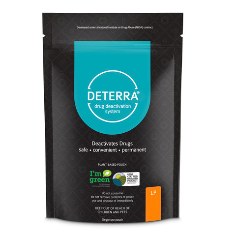 Deterra LP - Drug Deactivation & Disposal System (Large Stand-Up Pouch) 3-Pack.