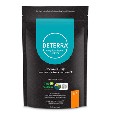 Deterra MP - Drug Deactivation & Disposal System (Medium Stand-Up Pouch) 3-Pack.