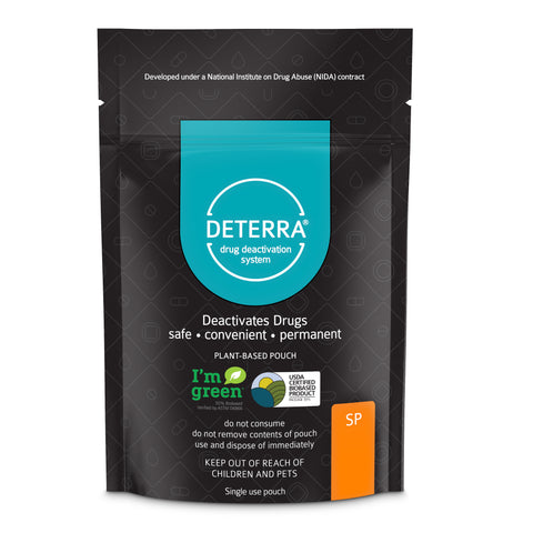 Deterra SP - Drug Deactivation & Disposal System (Small Stand-Up Pouch) 3-Pack.