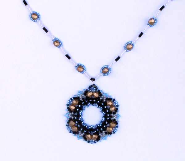 Shedir Pendant 3 in 1 - August 2017 BeadTrove Course Kit