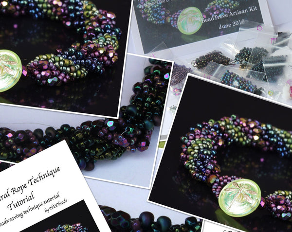 Triple Spiral Bracelet - June 2016 BeadTrove Course Kit