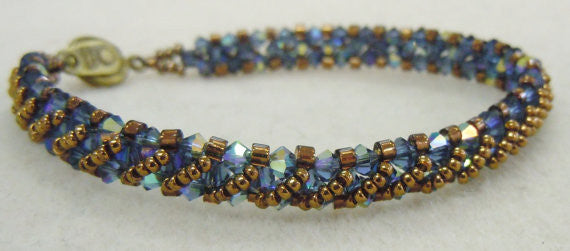 Annie's Bracelet - August 2016 BeadTrove Course Kit