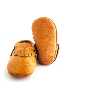 Little Leather Soft Sole Prewalker Shoes