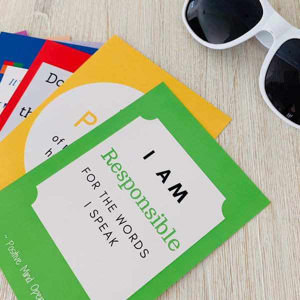 Affirmation Cards - Growing Minds (7-12 years)