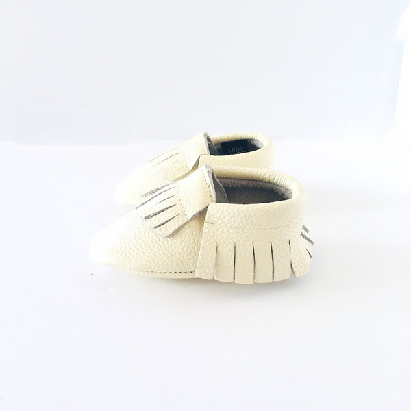 Little Leather - Classic Cream - Soft Soled Shoes