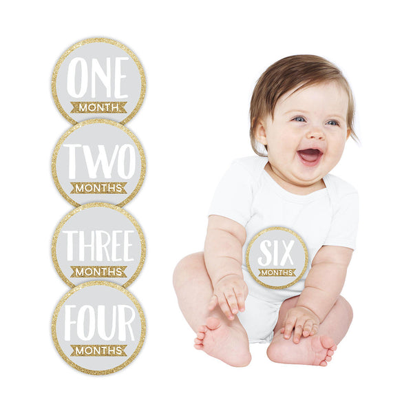 Pearhead - First Year  Milestone Stickers - Numbers
