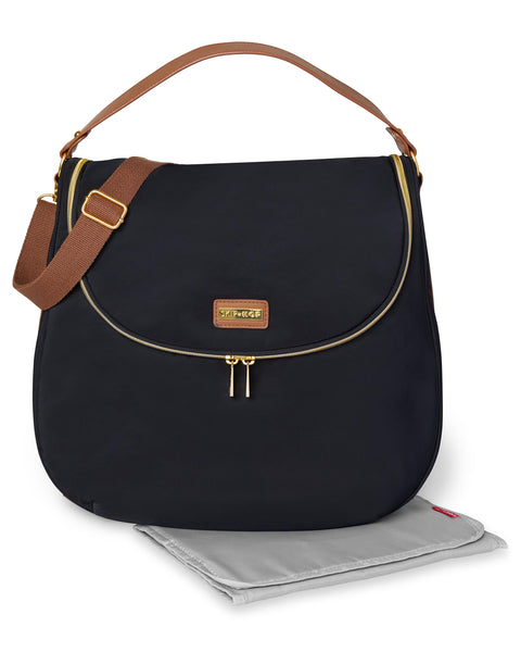 SkipHop Curve Satchel - Black