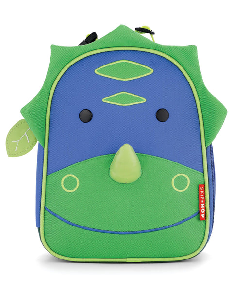 SkipHop - Zoo Lunchie Insulated Kids Lunch Bag - Dinosaur