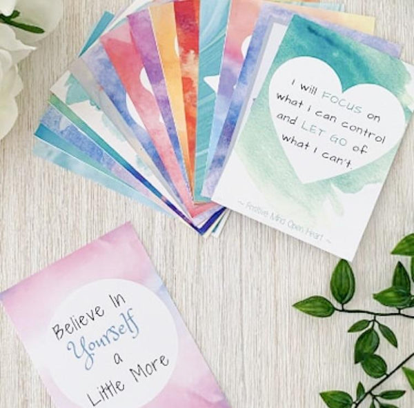 Affirmation Cards - Teen Girl
